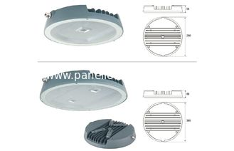 Die - casting aluminum 80W LED Canopy Light 7800-8500Lm High Lumen Output